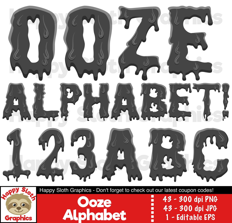 Ooze font