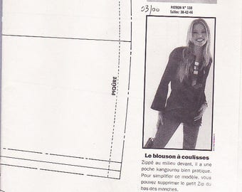 jacket pattern Vernier advantage n 138 March 2000