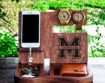 Mens Tech Gift Docking Stationmens Ideasbrother Giftpersonalizedmens Giftfathers Day Giftmens FunnyMens Birthday