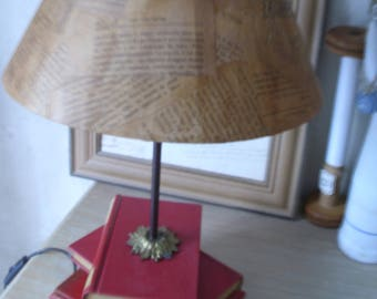 Feet books reading or bedside lamp