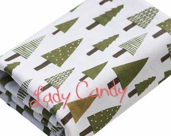 Trendy Christmas 100% linen 150 cm width fabric / sewing 150 x 50 cm #7290