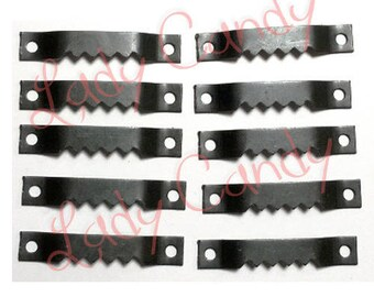Set of 2 clips with teeth / phenomenons Resistant hardware frames /#120017