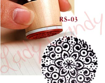 Stamp wood round for Cardmaking Scrapbooking #4084 embellishments