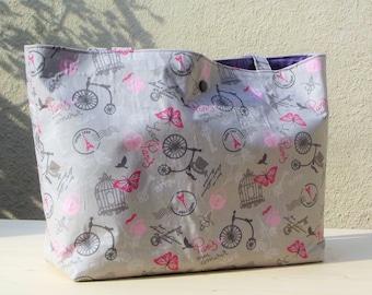 Totebag - inside pockets - bag - 100518 E bag