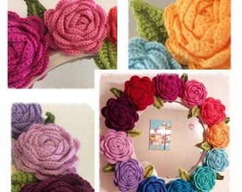 Happy Rose Crochet Pattern