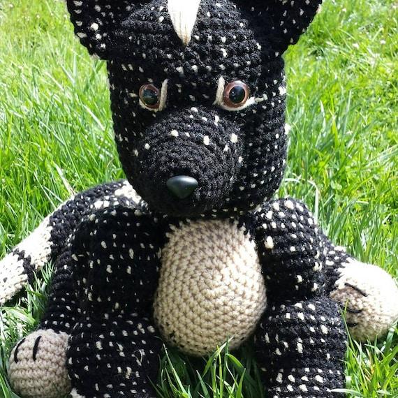 German Shepherd Dog Stuffed Animal Toy Stuffy Dog Gsd Etsy