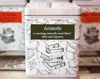 Aristotle Inspired Tea - Literary Tea Collection - Tea Gift - Literary Tea Gift - Bookish Gift - Author Gift- Loose Leaf Tea - Tea