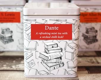Dante Inspired Tea - Literary Tea Collection - Tea Gift - Literary Tea Gift - Bookish Gift - Author Gift- Loose Leaf Tea - Tea