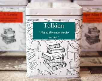 Tolkien Inspired Tea - Author - Literary Tea Collection - Tea Gift - Literary Tea Gift - Bookish Gift - Author Gift - Tea