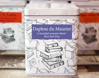 Daphne Du Maurier Inspired Tea - Literary Tea Collection - Tea Gift - Literary Tea Gift - Bookish Gift - Author Gift- Loose Leaf Tea - Tea
