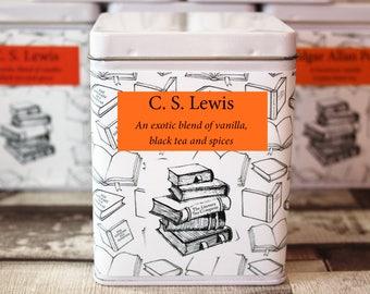 C.S. Lewis Inspired Tea - Literary Tea Collection - Tea Gift - Literary Tea Gift - Bookish Gift - Author Gift- Loose Leaf Tea - Tea