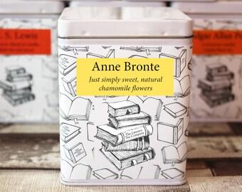 Anne Bronte Inspired Tea - Literary Tea Collection - Tea Gift - Literary Tea Gift - Bookish Gift - Author Gift- Loose Leaf Tea - Tea