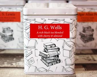 H. G. Wells Inspired Tea - Author - Literary Tea Collection - Tea Gift - Literary Tea Gift - Bookish Gift - Author Gift - Tea