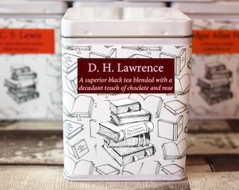 DH Lawrence Inspired Tea - Literary Tea Collection - Tea Gift - Literary Tea Gift - Bookish Gift - Author Gift- Loose Leaf Tea - Tea