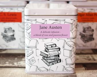Jane Austen Inspired Tea - Tea Gift - Literary Tea Gift - Bookish Gift - Author Gift- Loose Leaf Tea - Tea