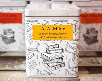 A. A. Milne Inspired Tea - Literary Tea Collection - Tea Gift - Literary Tea Gift - Bookish Gift - Author Gift- Loose Leaf Tea - Tea