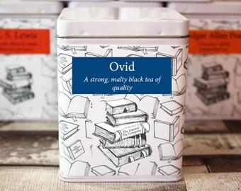 Ovid Inspired Tea - Literary Tea Collection - Tea Gift - Literary Tea Gift - Bookish Gift - Author Gift- Loose Leaf Tea - Tea