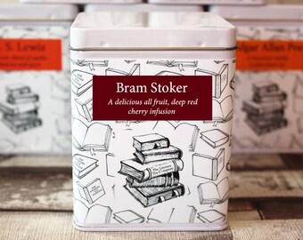 Bram Stoker Inspired Tea - Literary Tea Collection - Tea Gift - Literary Tea Gift - Bookish Gift - Author Gift- Loose Leaf Tea - Tea