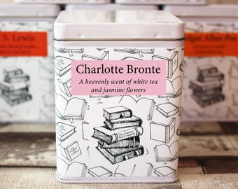 Charlotte Bronte Inspired Tea - Tea Gift - Literary Tea Gift - Bookish Gift - Author Gift- Loose Leaf Tea - Jane Eyre - Tea