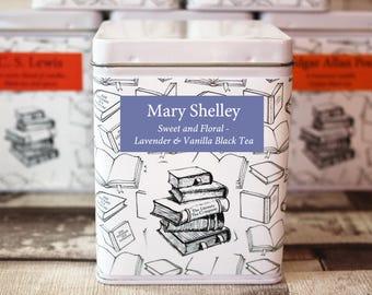 Mary Shelley Tea - Author - Literary Tea Collection - Tea Gift - Literary Tea Gift - Bookish Gift - Author Gift- Loose Leaf Tea - Tea