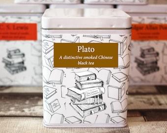 Plato Inspired Tea - Literary Tea Collection - Tea Gift - Literary Tea Gift - Bookish Gift - Author Gift- Loose Leaf Tea - Tea