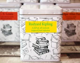 Rudyard Kipling Inspired Tea - Literary Tea Collection - Tea Gift - Literary Tea Gift -Bookish Gift- Author Gift- Loose Leaf Tea - Tea