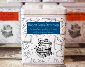 Robert Louis Stevenson Inspired Tea - Literary Tea Collection - Tea Gift - Literary Tea Gift -Bookish Gift-Author Gift- Loose Leaf Tea - Tea