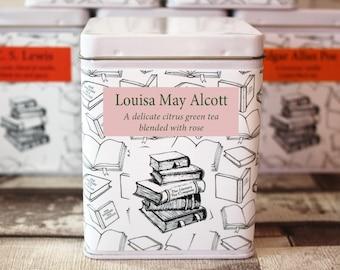 Louisa May Alcott Inspired Tea - Literary Tea Collection - Tea Gift - Literary Tea Gift - Bookish Gift - Author Gift- Loose Leaf Tea - Tea