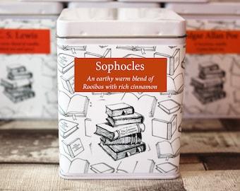 Sophocles Inspired Tea - Literary Tea Collection - Tea Gift - Literary Tea Gift -Bookish Gift- Author Gift- Loose Leaf Tea - Tea