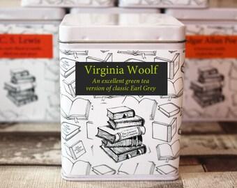 Virginia Woolf Inspired Tea - Literary Tea Collection - Tea Gift - Literary Tea Gift -Bookish Gift- Author Gift- Loose Leaf Tea - Tea