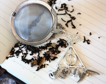 Inspired by Harry Potter  - Tea Ball - Wizards Hat - Magic - Fantasy - Literature Tea Infuser - Tea Infuser