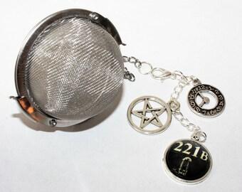 Superwholock Inspired Tea Infuser - Stainless Steel Tea Ball - Tea Ball - Fantasy - Tea Accessories