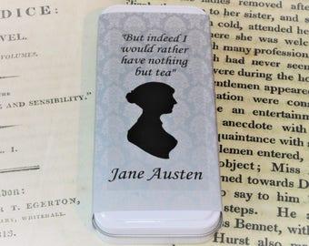 The Jane Austen Tea - Literary Tea Collection - Tea Gift - Literary Tea Gift - Bookish Gift - Author Gift- Loose Leaf Tea - Tea