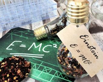 Albert Einstein Inspired Tea - Light Bulb Gift - Science Gift - Tea Gift - Loose Leaf Tea -Tea - Science - E=mc2 - Einstein