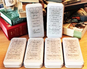 Literary Quote Gift Tins