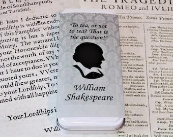 The William Shakespeare Tea - Literary Tea Collection - Tea Gift - Literary Tea Gift - Bookish Gift - Author Gift- Loose Leaf Tea - Tea