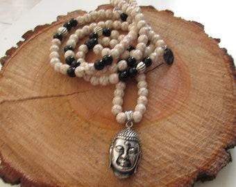 Necklace beads Buddha