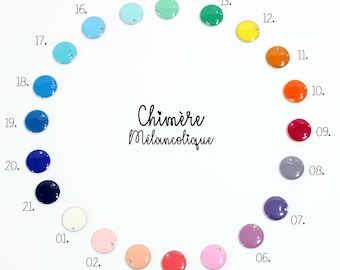 CHOICE of SEQUIN 12mm - melancholy chimera