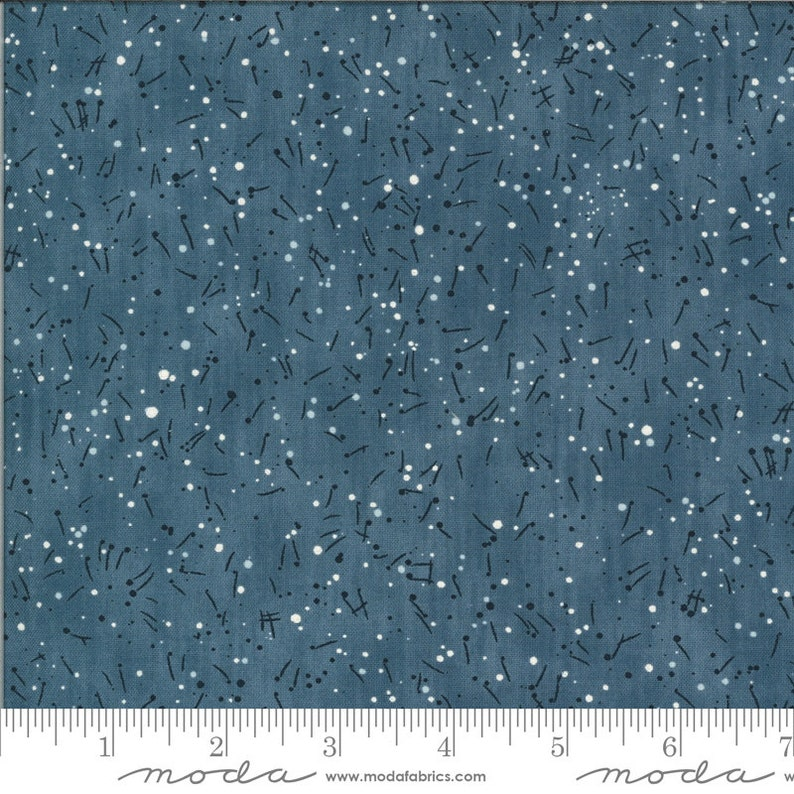 16902-18 Janet Clare Notes Light Blue The Blues Fabric is sold in 12 yard increments Fitsgerald
