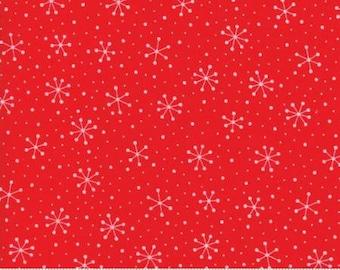 Red Dot Green Dash - Snowflake Dots - 22301-11
