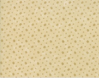 Through The Years - Kansas Trouble - Specks - Tonal Tan - 9625-21 - Fabric is sold in 1/2 yard increments and cut continuously