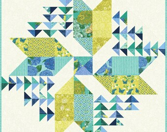 Cottage Blue Kit - Robin Pickens - Wind Drifter Kit - KIT48690