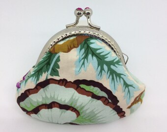 Small purse with fancy clasp