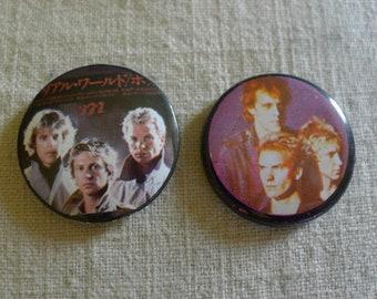 H The Police Sting Band Logo Collar de cord/ón de p/úa de guitarra
