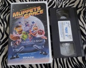 Muppets In Space VHS Big Box