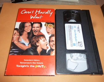 cant hardly wait vhs tape - The Night They Saved Christmas Dvd