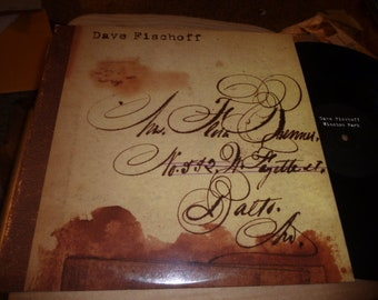 Dave Fischoff LP Secretly Canadian 1998 indie rock