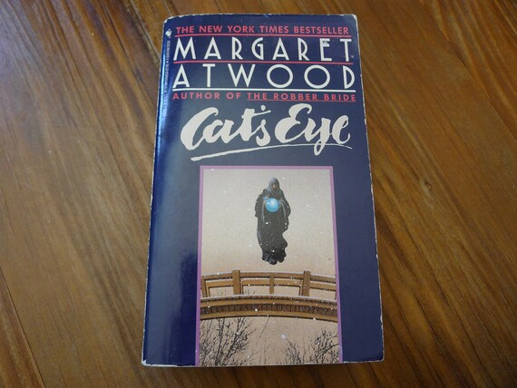 Margaret Atwood Cats Eye Paperback Book Etsy