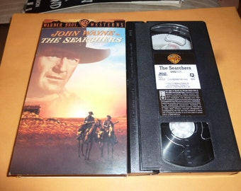 John Wayne VHS TAPE The Searchers