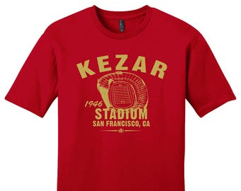 27e6a31afef Kezar Stadium 1946 Football Tee Shirt - Past Home of Your San Francisco  49ers - Any 2 For 33
